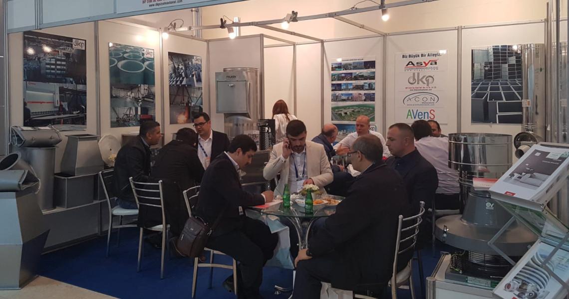 Teskon + SODEX 2017 İzmir fuarına katıldı
